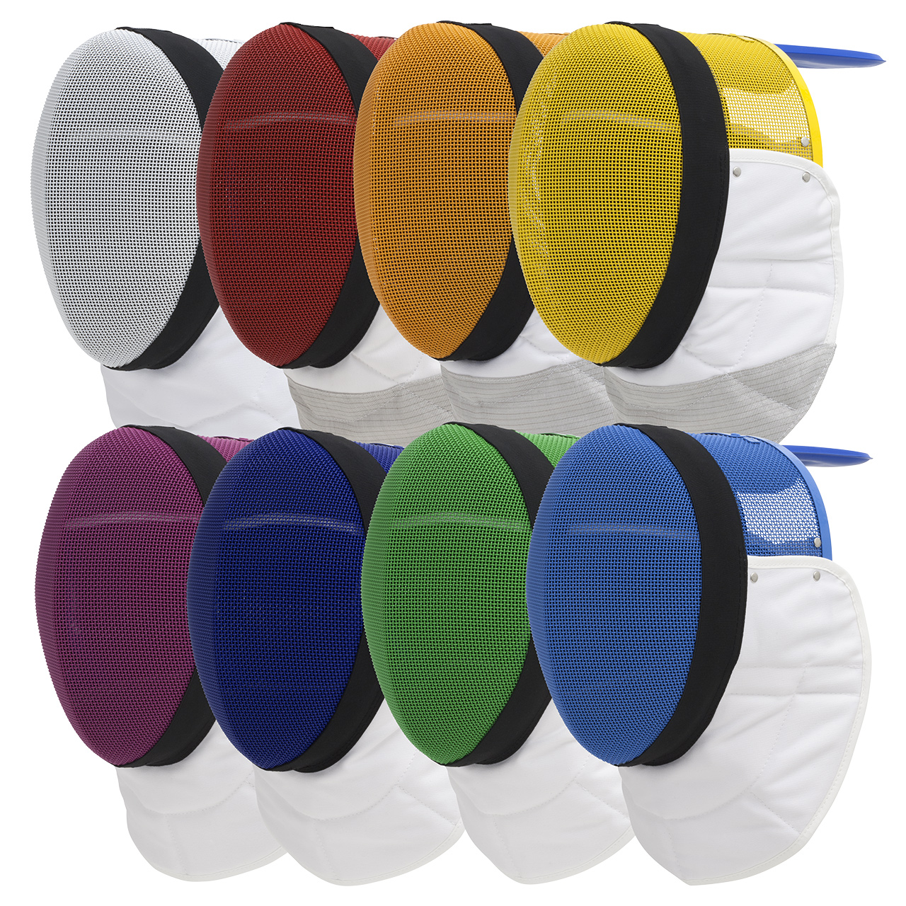 FIE foil mask 1600N, coloured