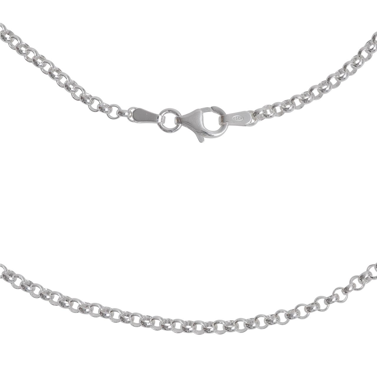 Silber-Kette, 80cm