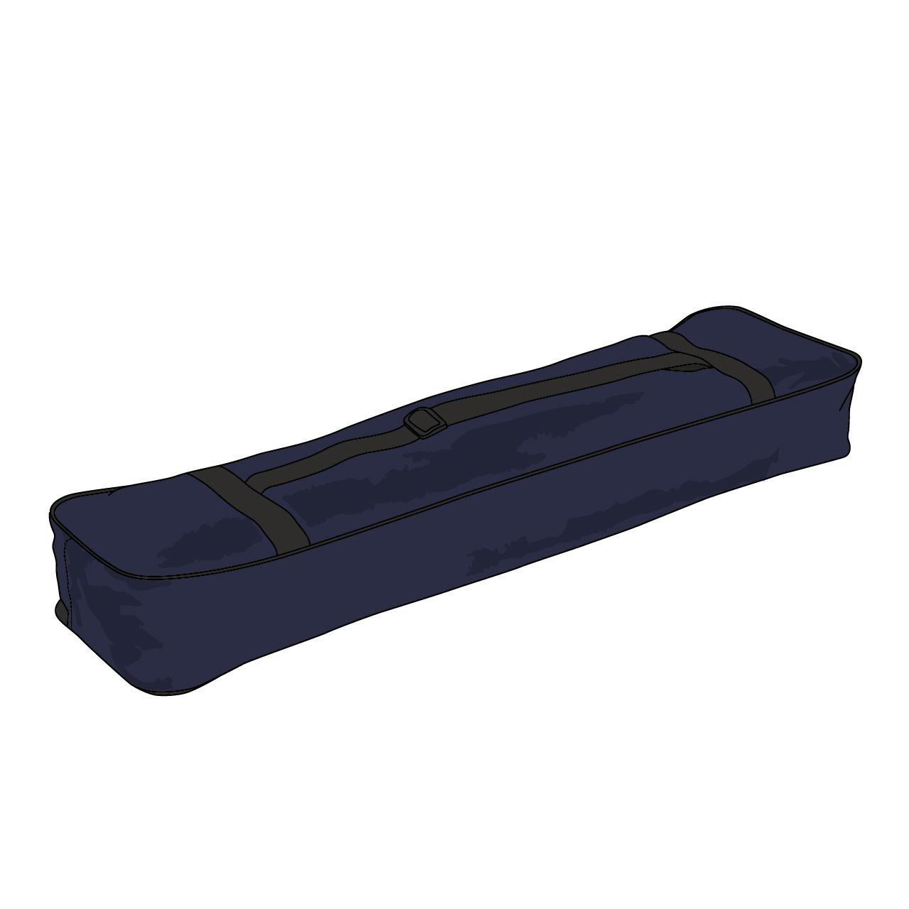 """Waffentasche """"Kombi Up"""", 18cm tief, mit Kleiderfach"""