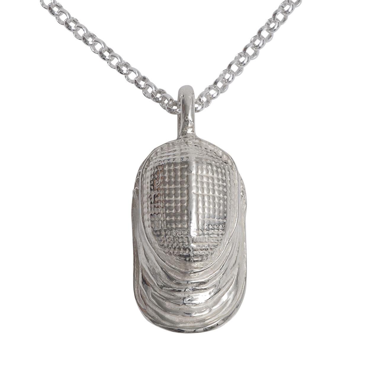 """Silber-Anhänger """"Maske"""""""