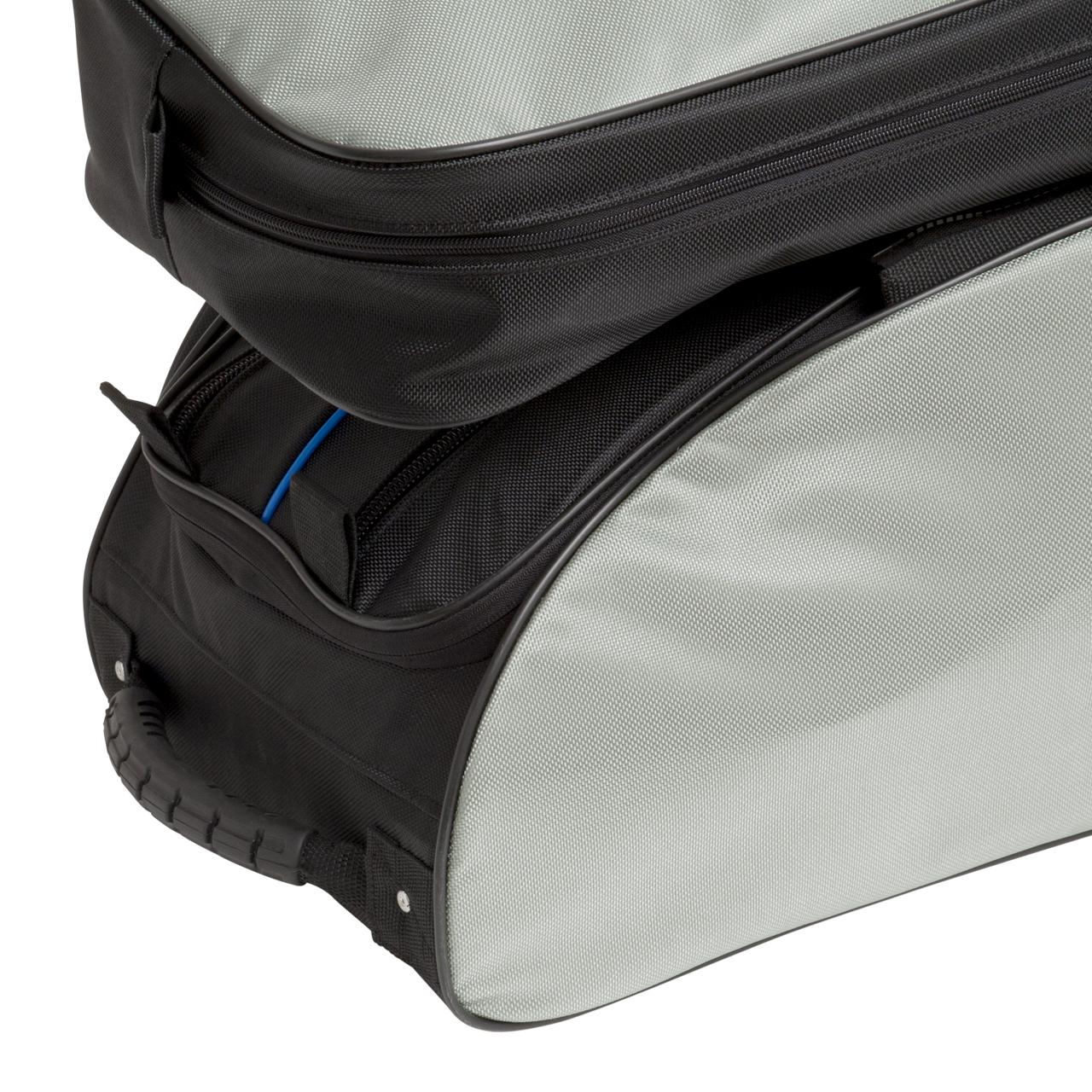 """Rollbag """"Jumbo Spezial"""", 2 Hauptfächer, 3 Vordertaschen, 1 Aufsatztasche"""
