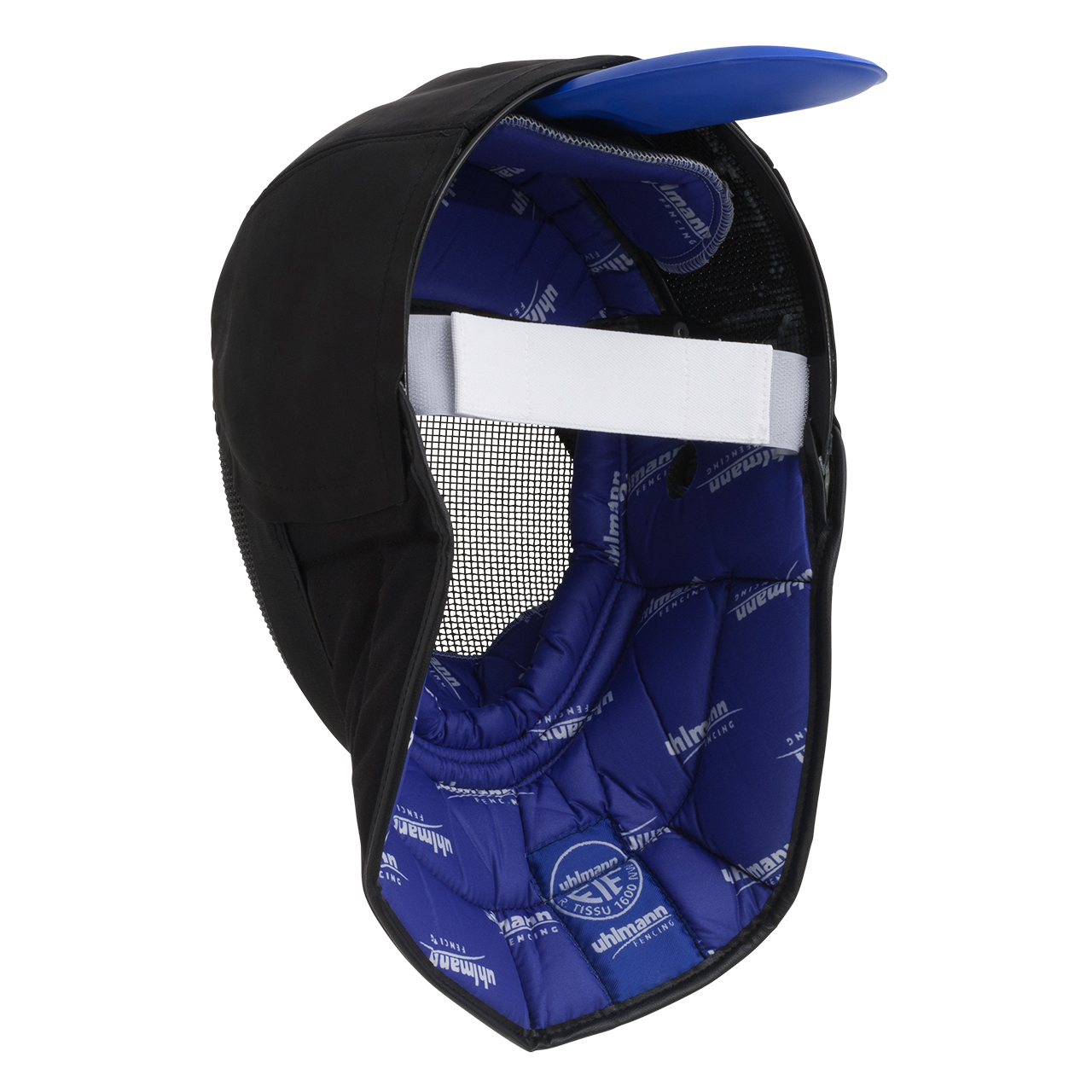 Fechtmeistermaske mit Lederbesatz 1600N