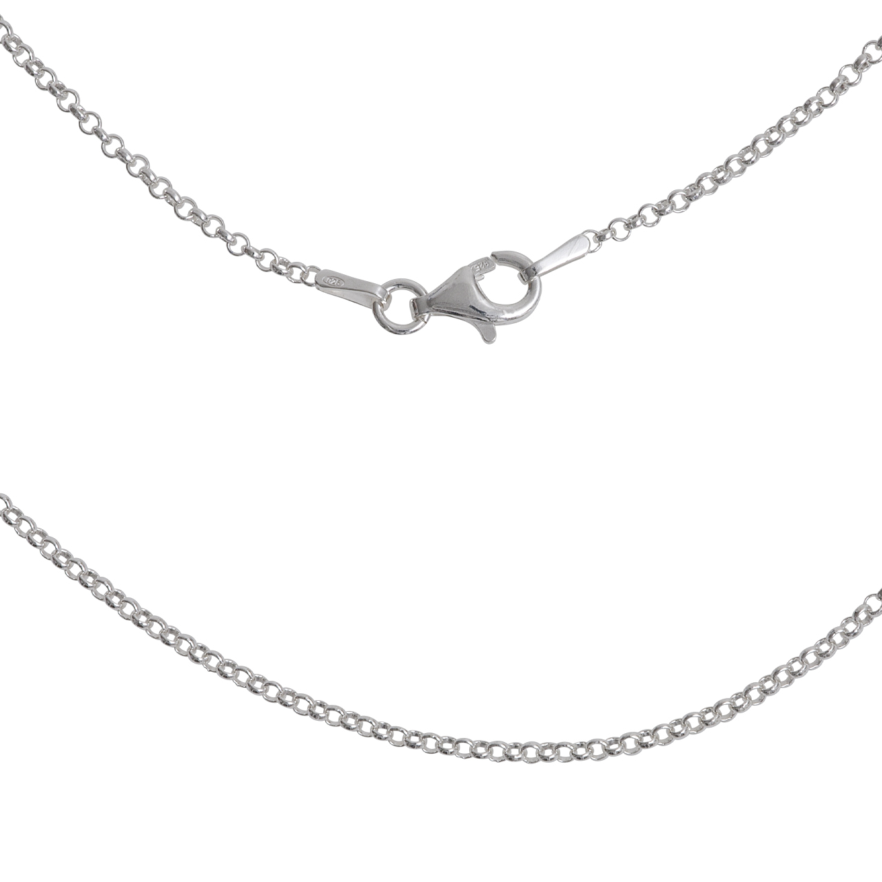 Silber-Kette, 42cm