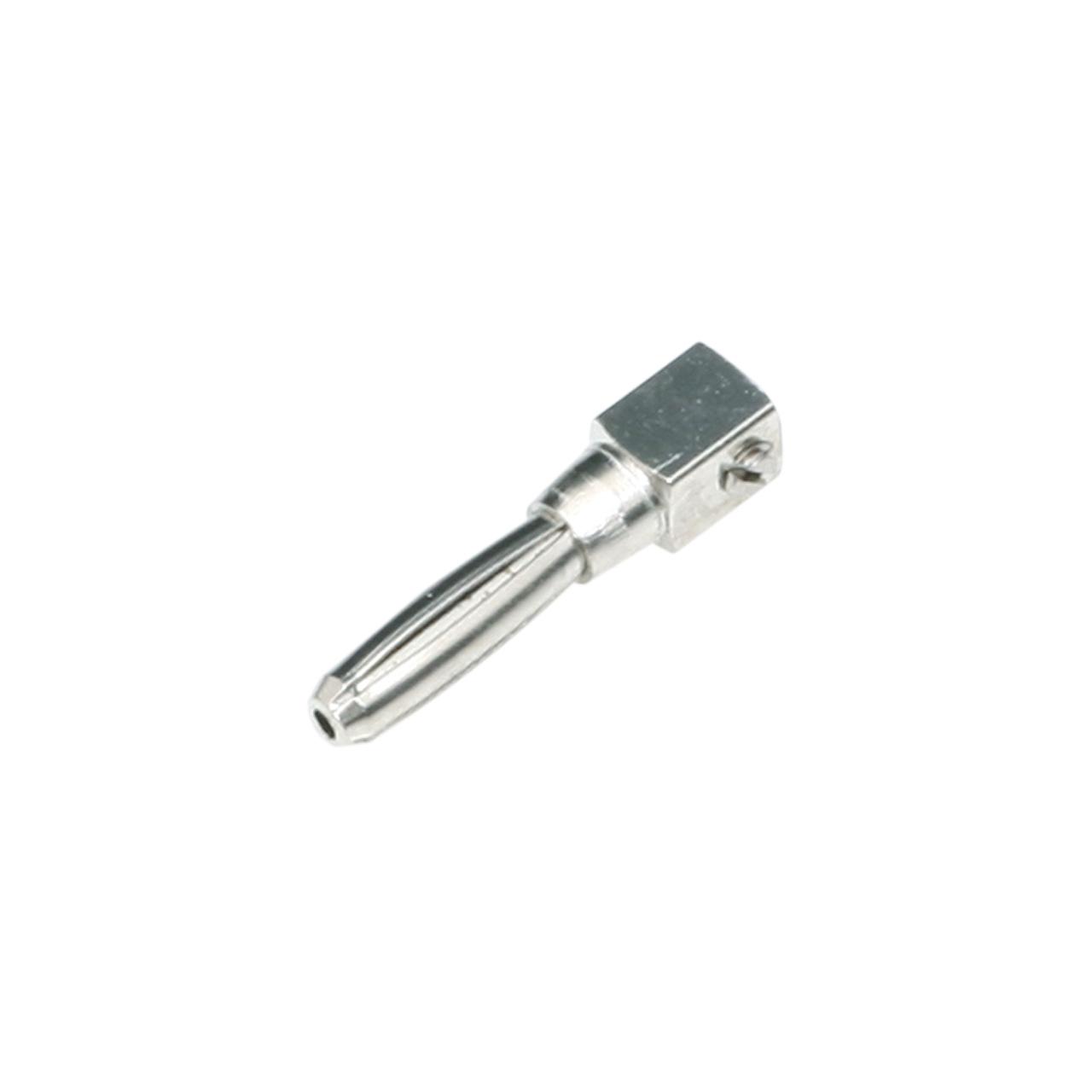 plug pin 4mm, for cable plug 3-pole
