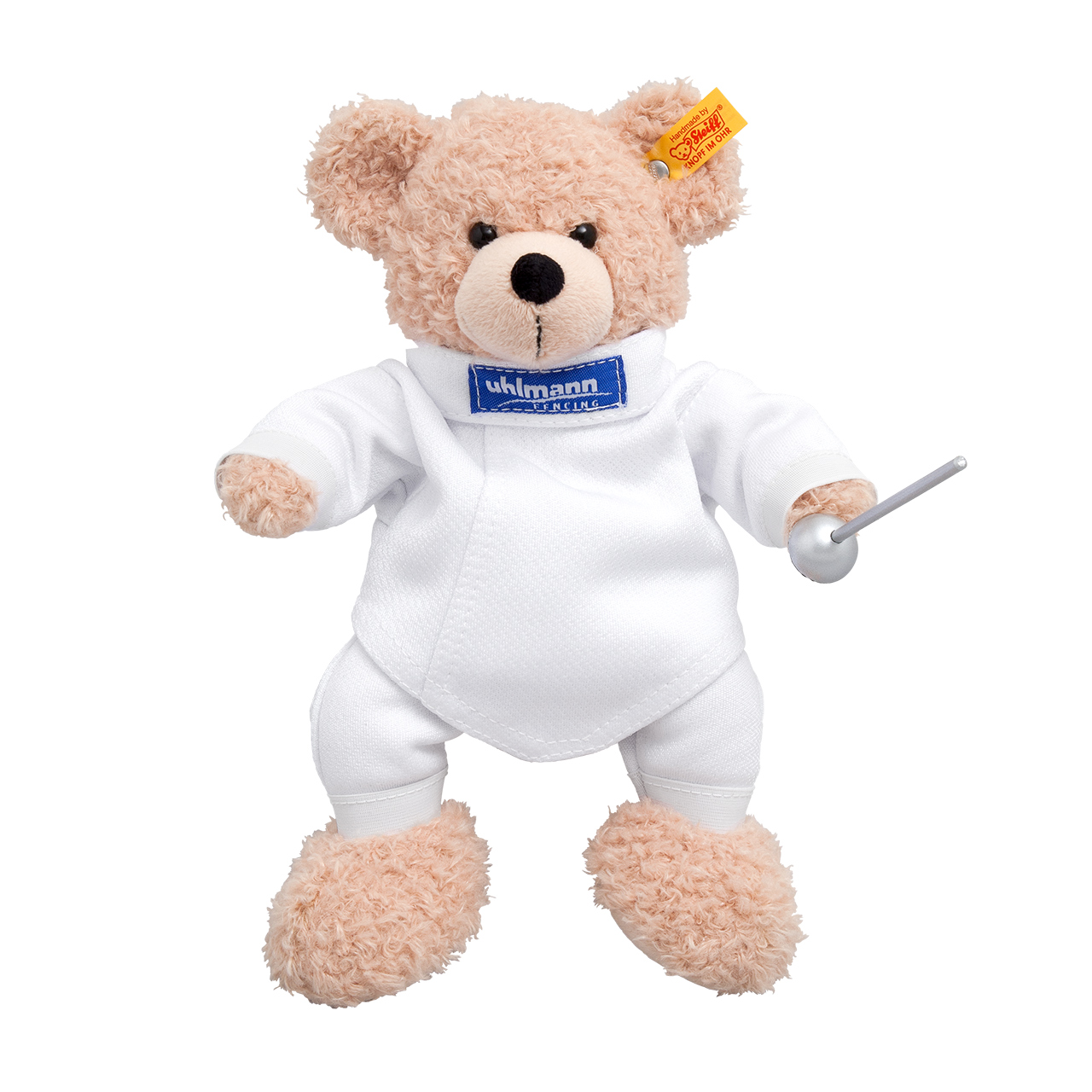 """Steiff""-bear with fencing suit"