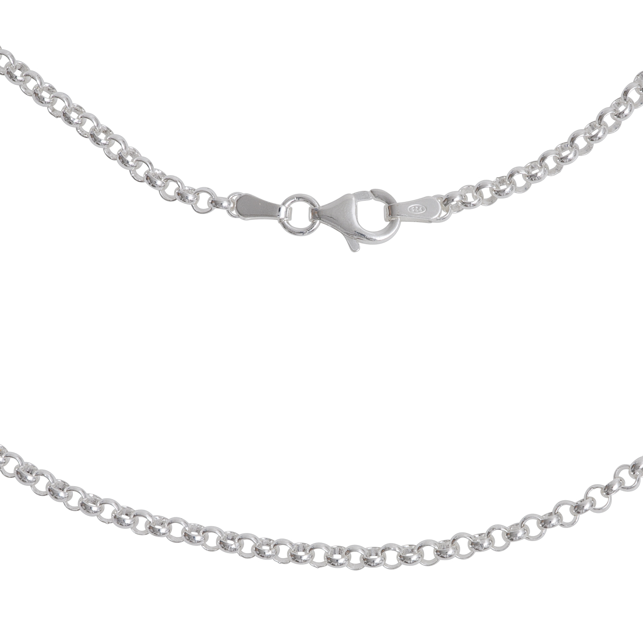 Silber-Kette, 45cm