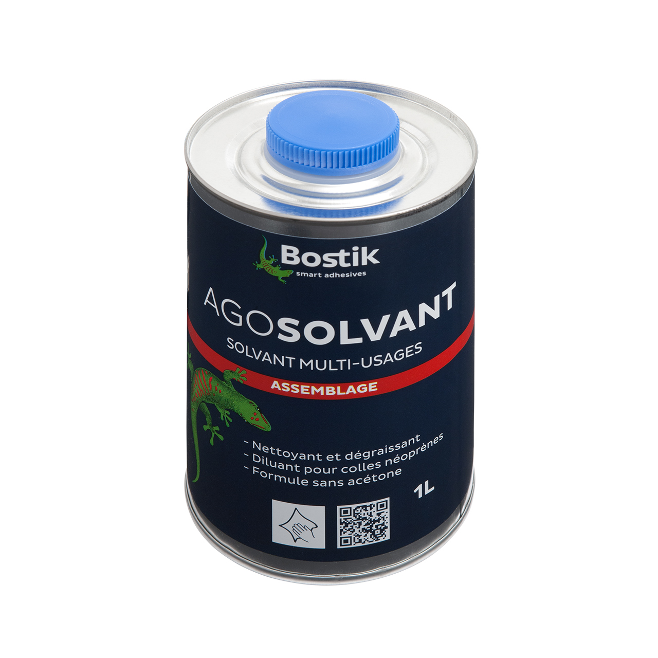 Bostik-thinner (tin), 1L