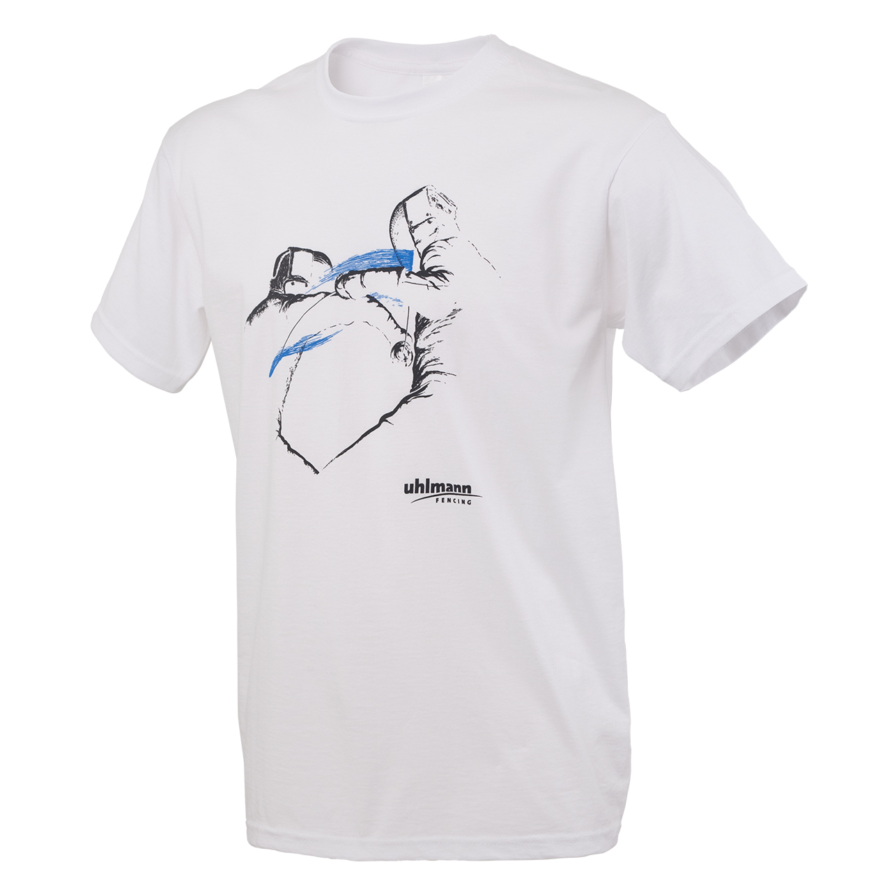 "T-shirt ""Dynamic"", white"